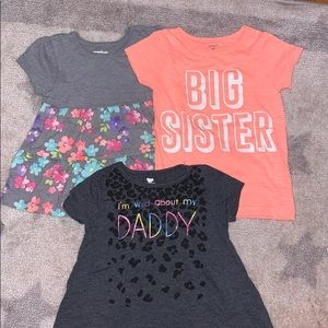 Girls shirts bundle